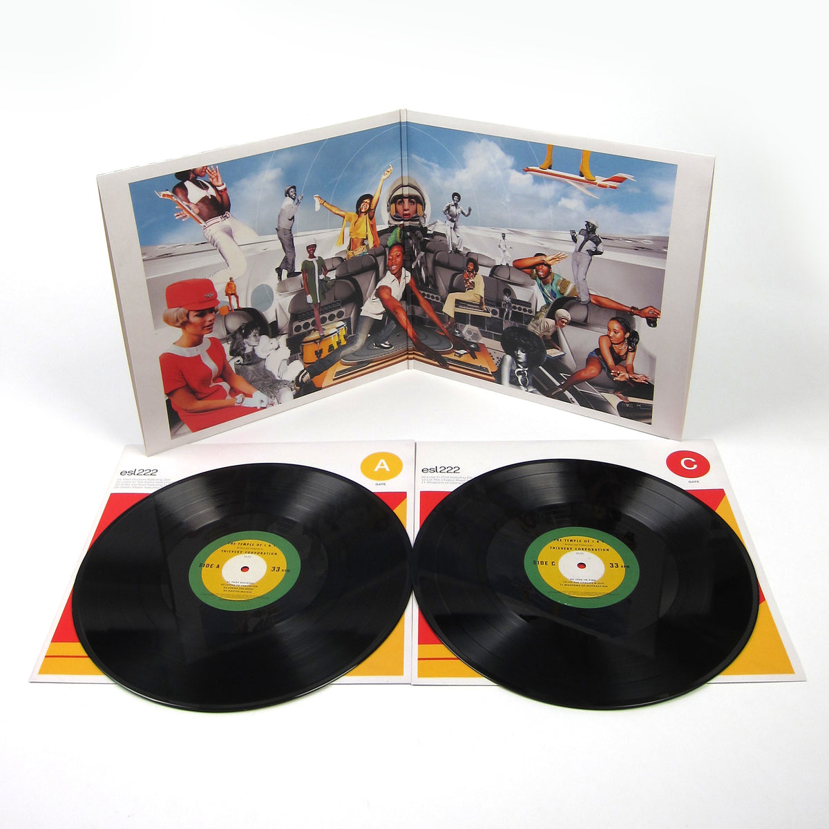 Thievery Corporation: Temple Of I & I Vinyl 2LP