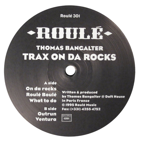 Thomas Bangalter: Trax On Da Rocks Vol.1 (Daft Punk) 12""