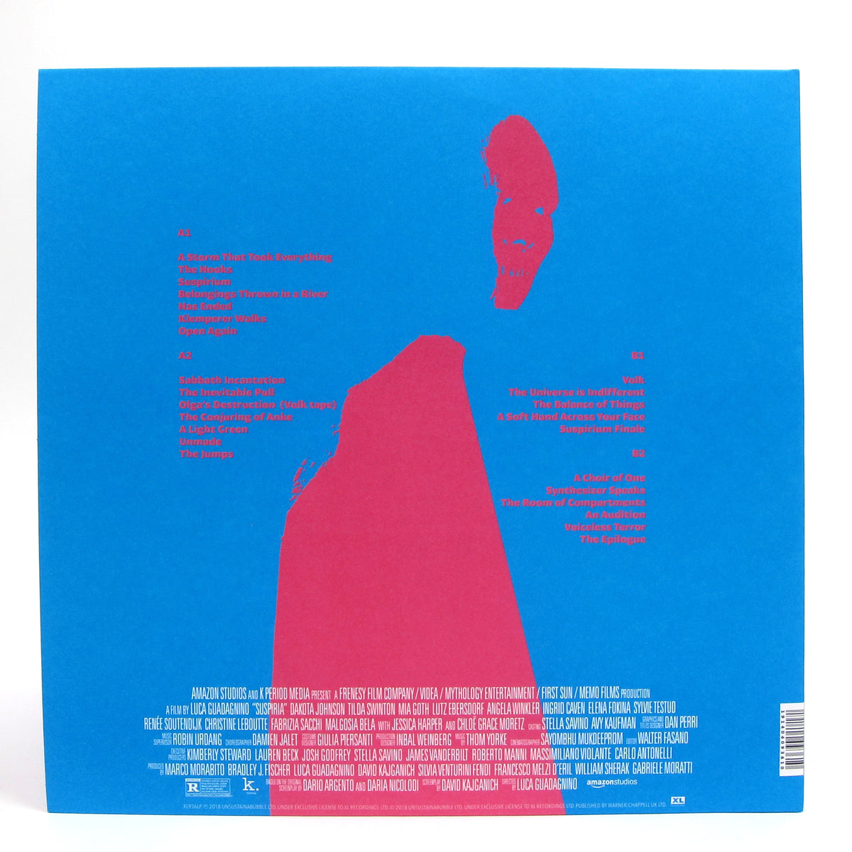 Thom Yorke: Suspiria Soundtrack (Colored Vinyl) Vinyl 2LP