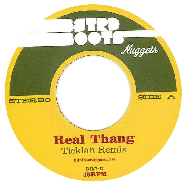 Ticklah: Real Thang (Erykah Badu, Pharoahe Monch) 7""