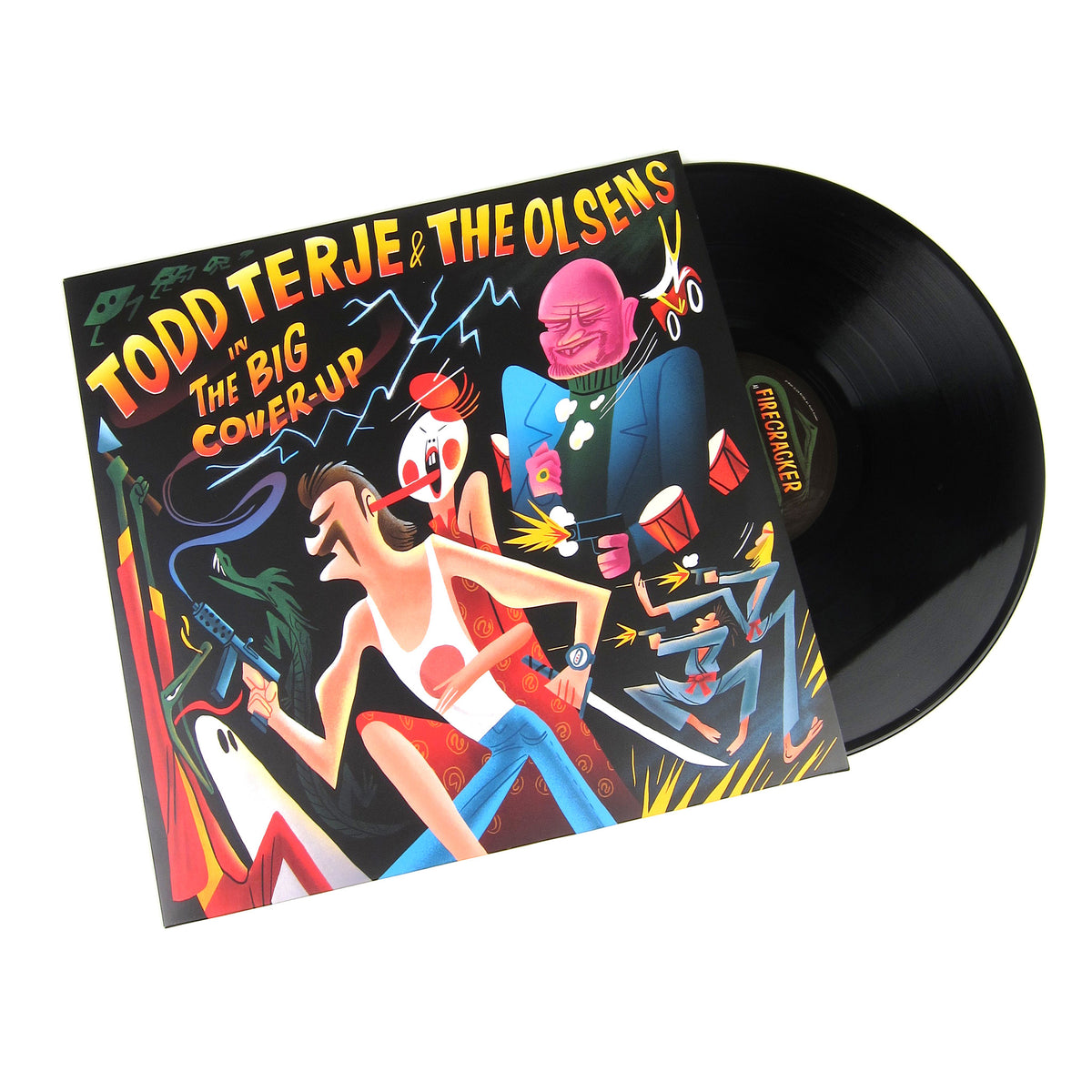 Todd Terje & The Olsens: The Big Cover-Up Vinyl 2LP