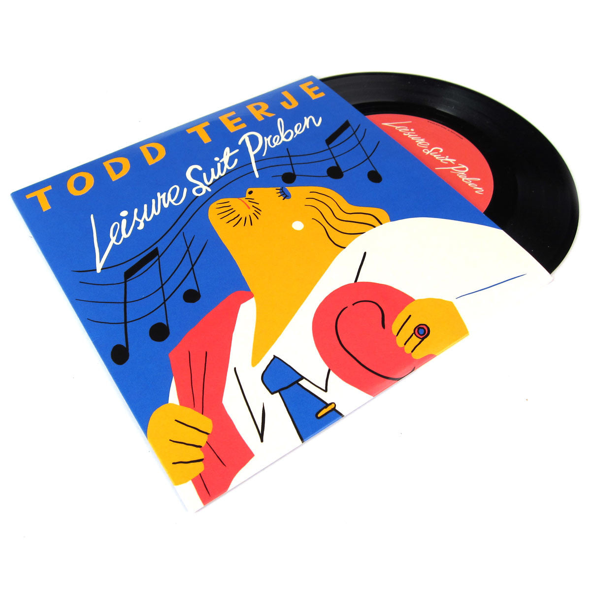 Todd Terje: Leisure Suit Vinyl 7""