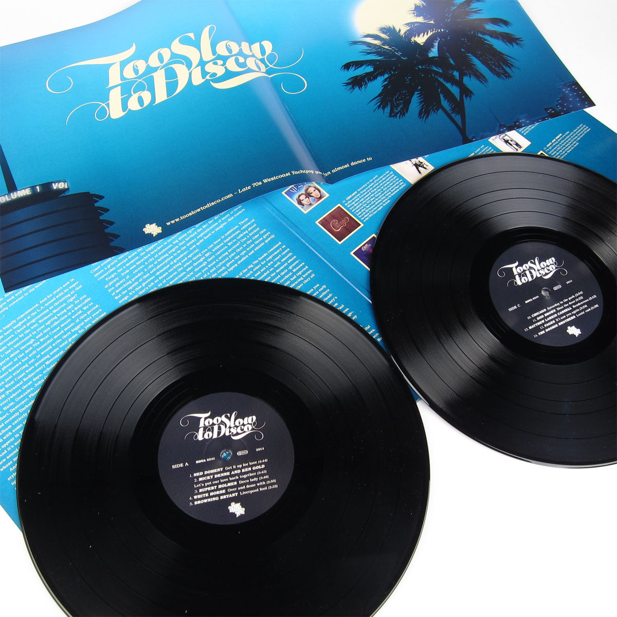 How Do You Are? Recordings: Too Slow To Disco (180g, Poster, Free MP3) Vinyl 2LP detail