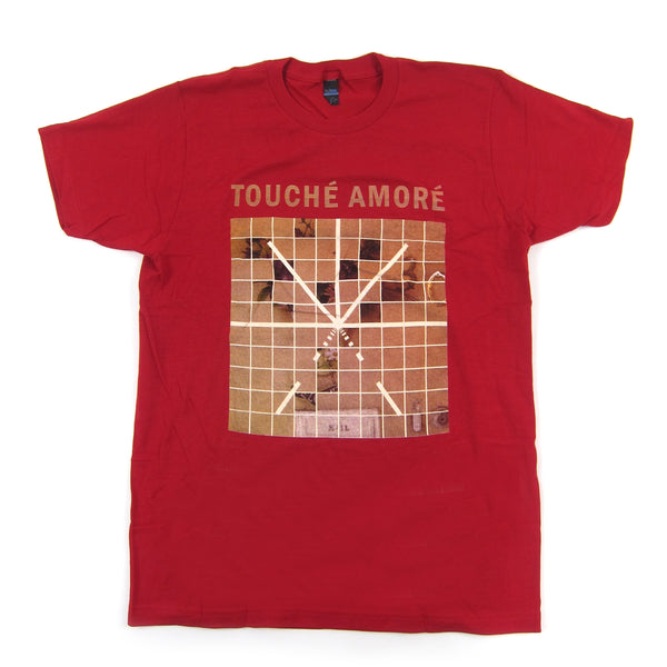 Touche Amore: Stage Four Album Art Shirt - Cardinal