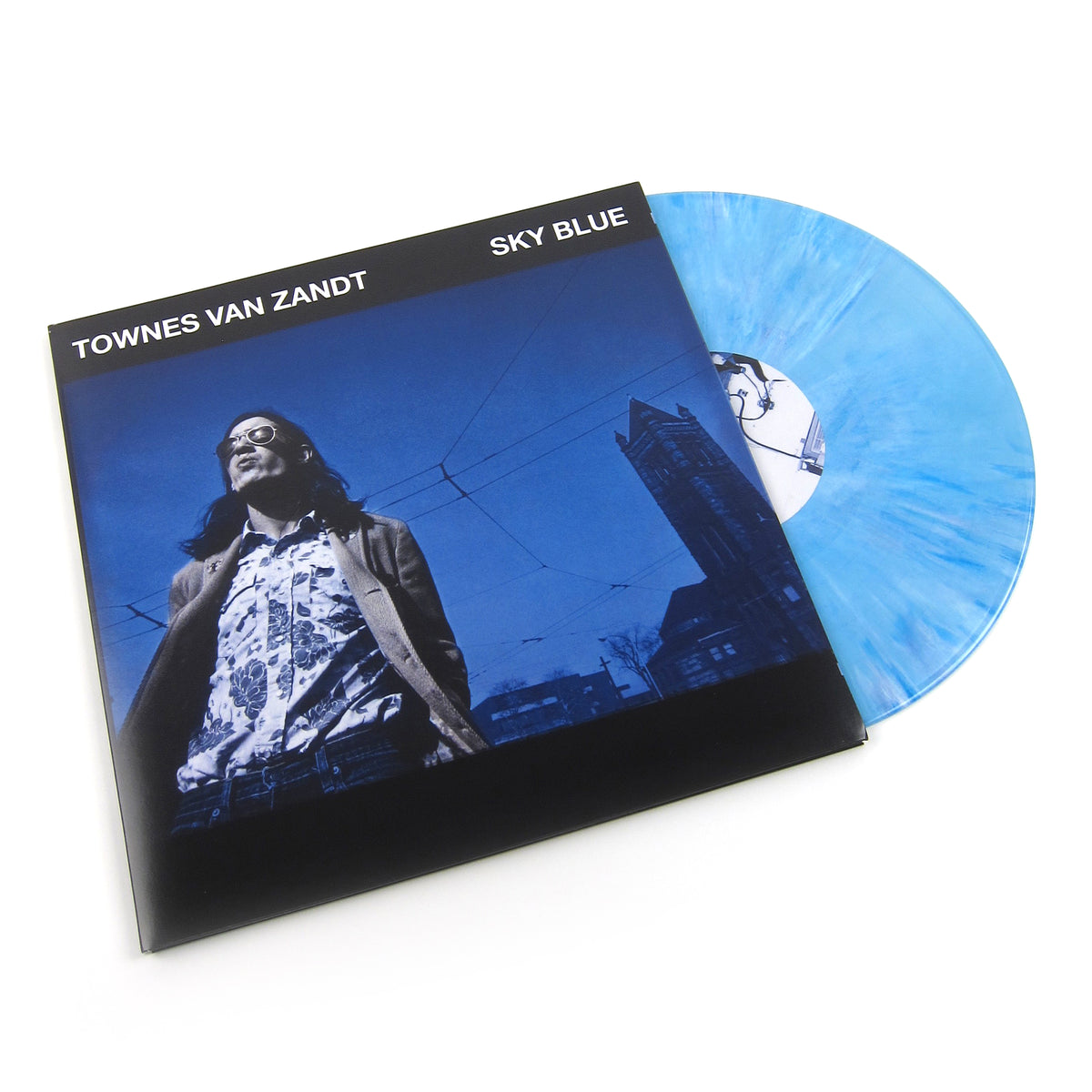 Townes Van Zandt: Sky Blue (Indie Exclusive Colored Vinyl) Vinyl LP