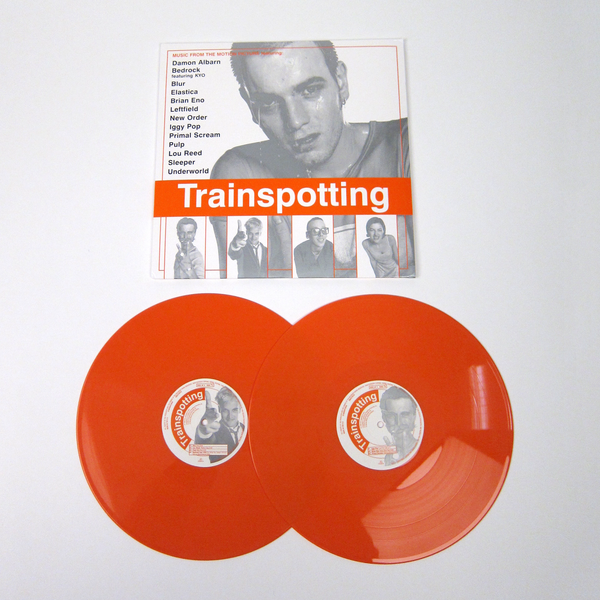 Trainspotting Trainspotting Soundtrack Orange Vinyl