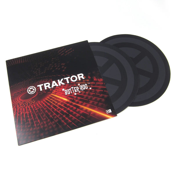Native Instruments: Traktor Butter Rugs Slipmats (Pair)