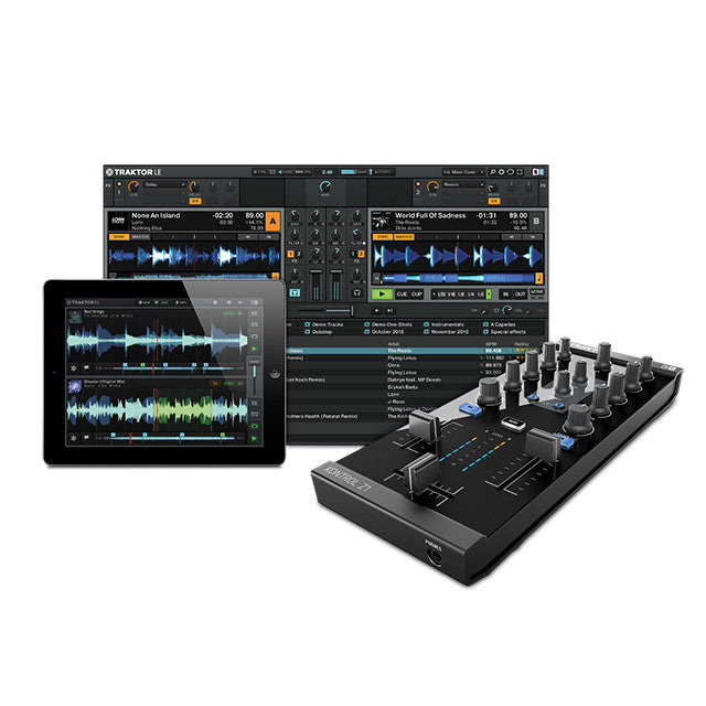 Native Instruments: Traktor Kontrol Z1 DJ Mixer / Interface Screen