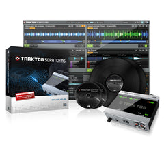 Native Instruments: Traktor Scratch A6 Digital DJ System