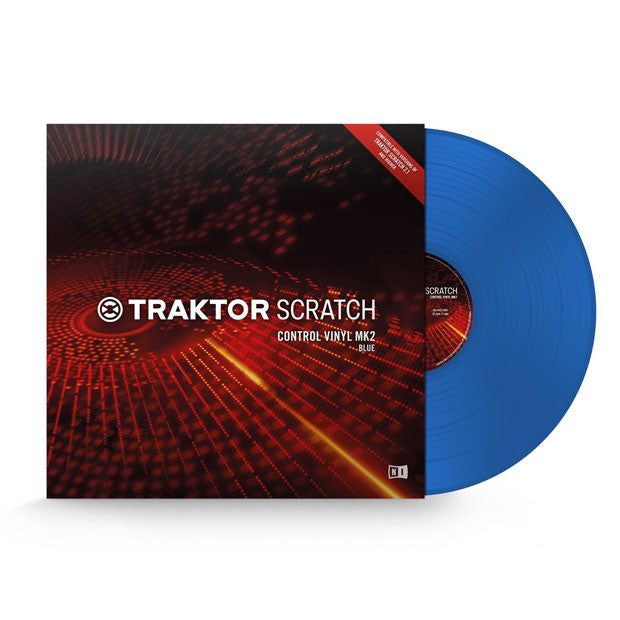 Native Instruments: Traktor Scratch Control Vinyl MK2 - Blue 2