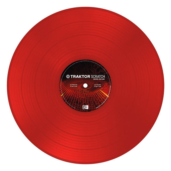 Native Instruments: Traktor Scratch Control Vinyl MK2 - Red