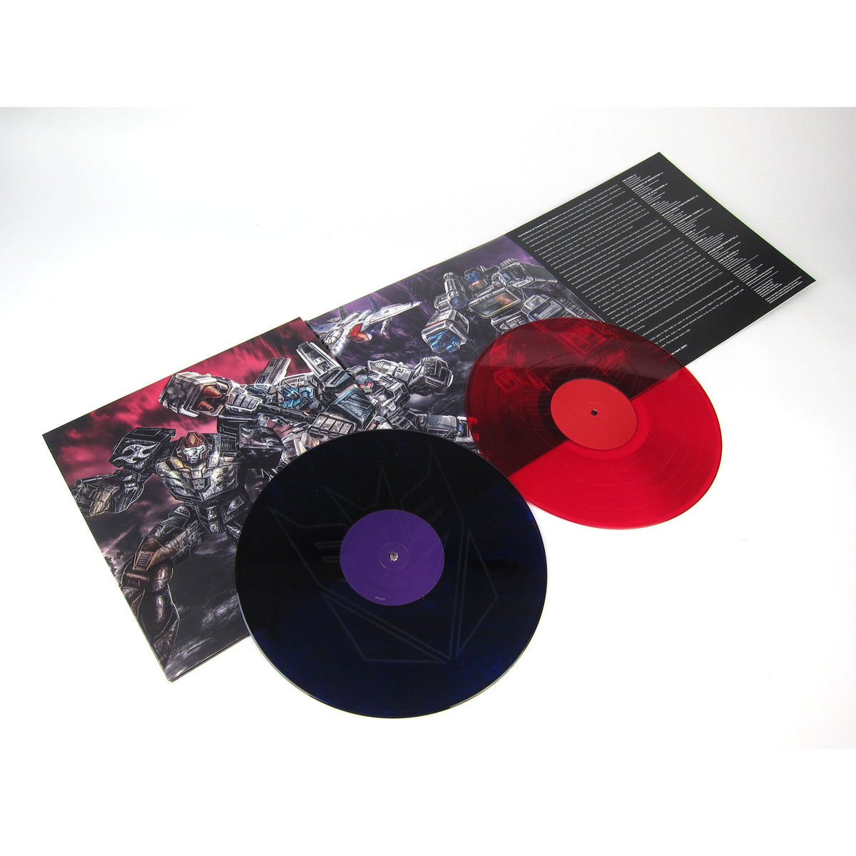 Transformers: The Movie Soundtrack (Colored Vinyl) Vinyl 2LP (Record Store Day)
