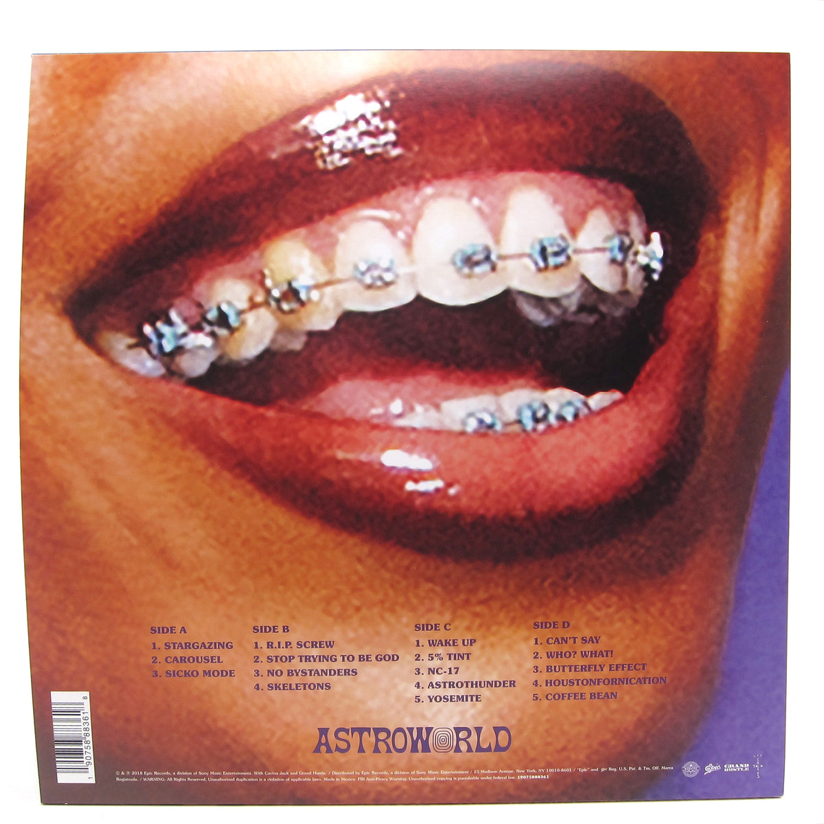 Travis Scott: ASTROWORLD Vinyl 2LP