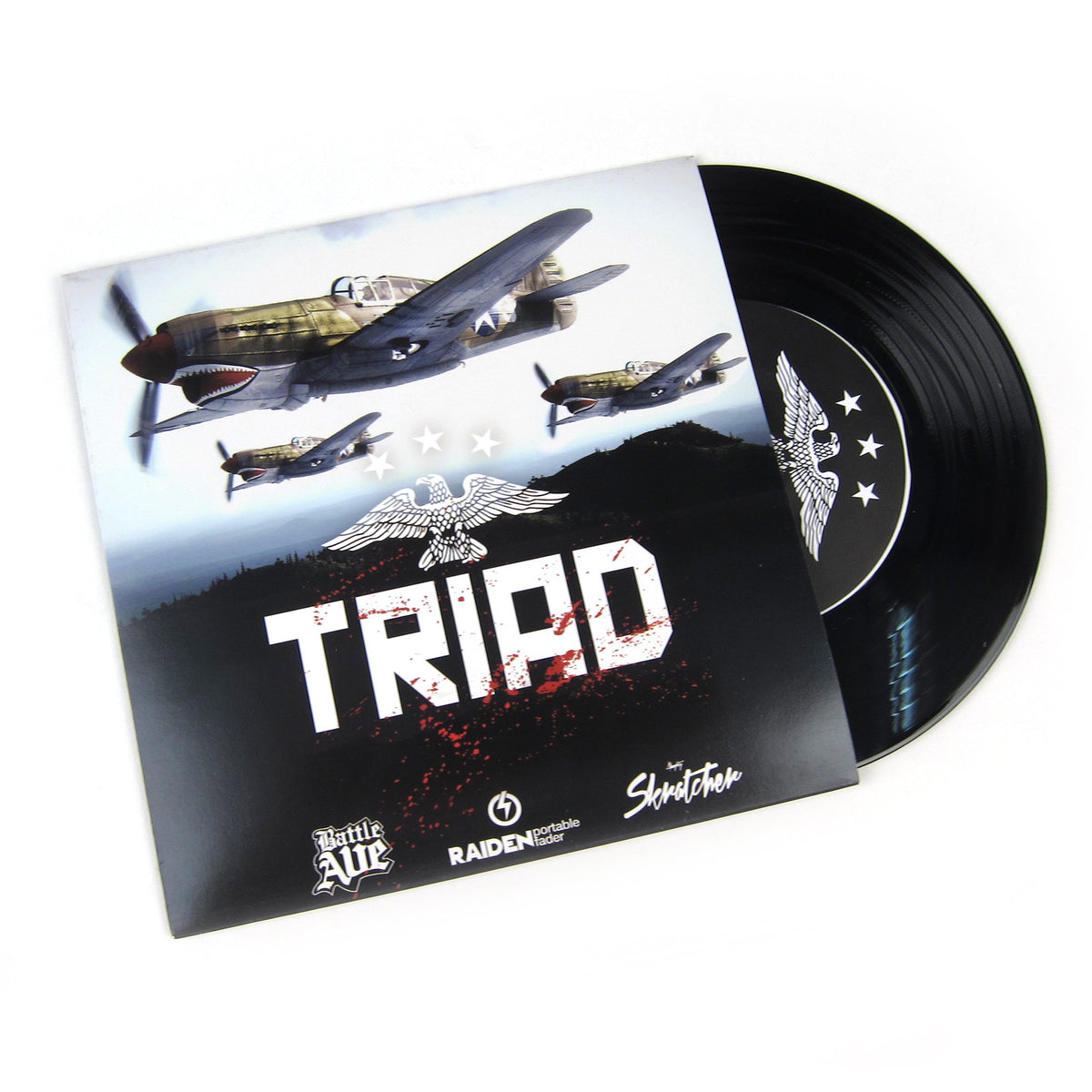 Battle Ave: Triad Breaks (Raiden Fader, Skratcher) Vinyl 7""