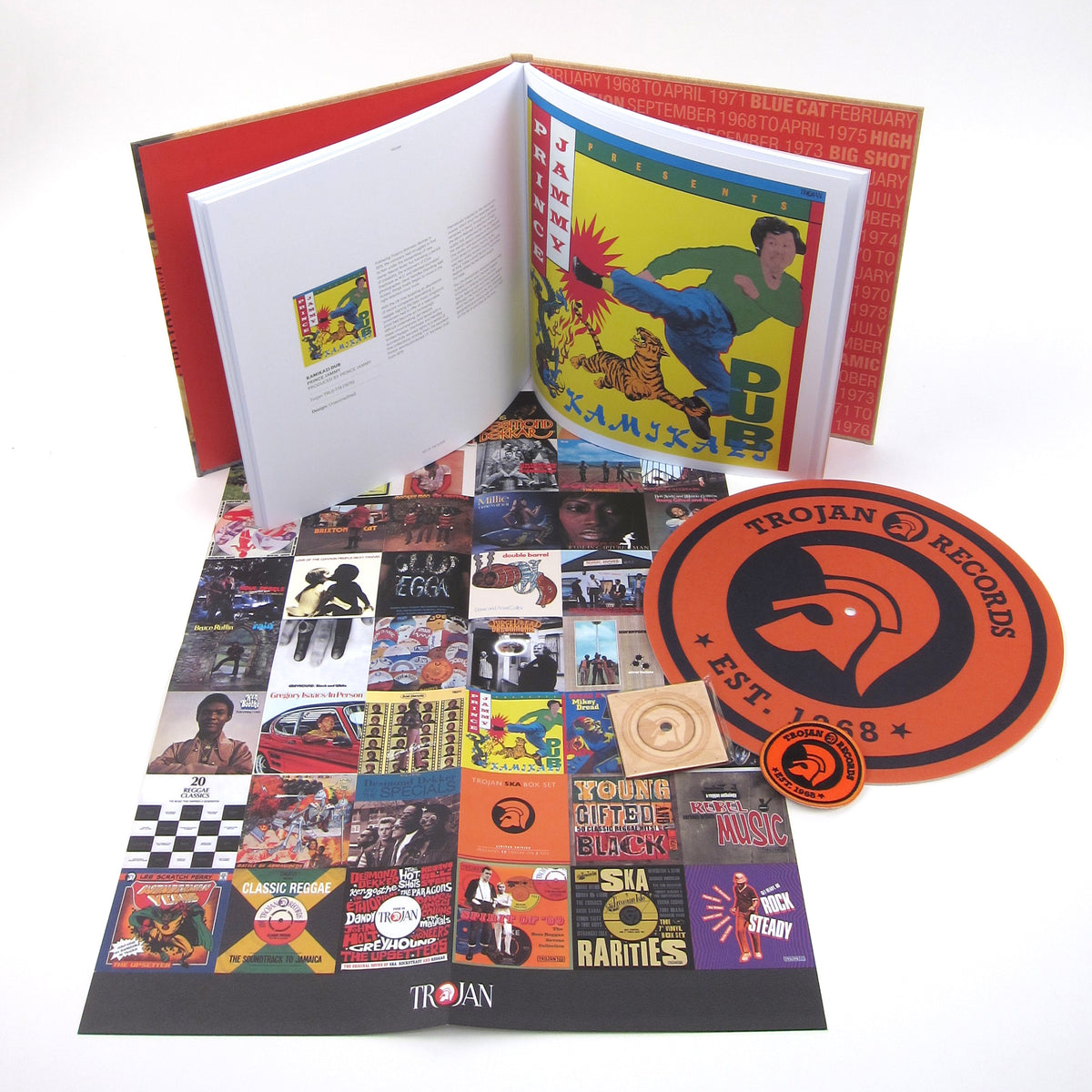 "Trojan Records: The Trojan Records Boxset Vinyl 4LP+2x7""+6CD"