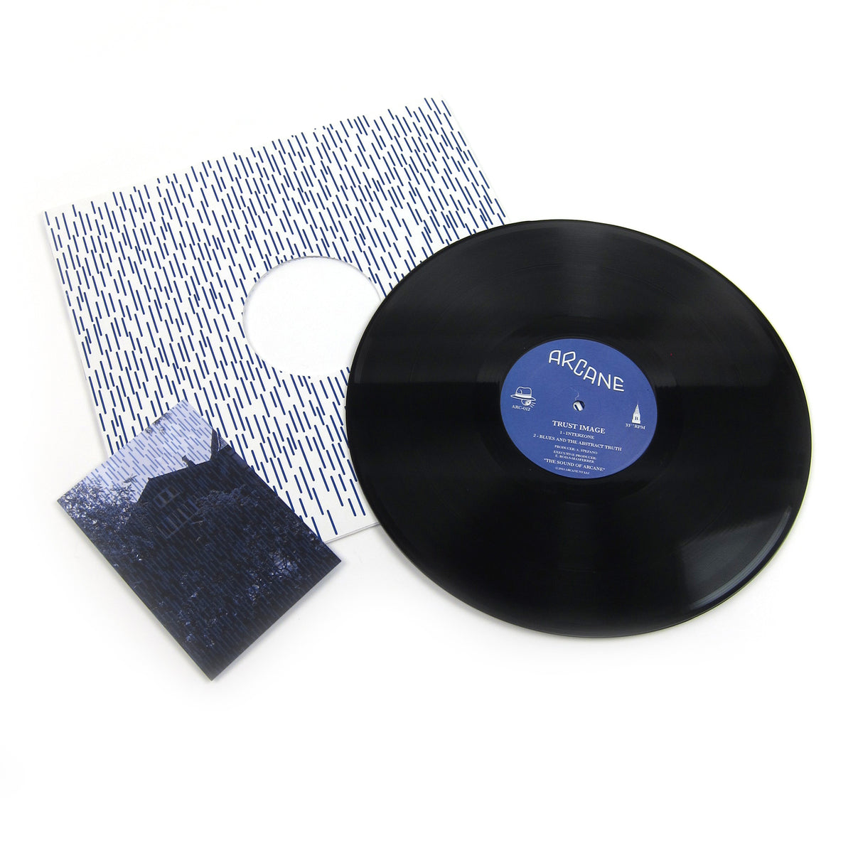 Trust Image: A Man Cut In Slices Vinyl 12""