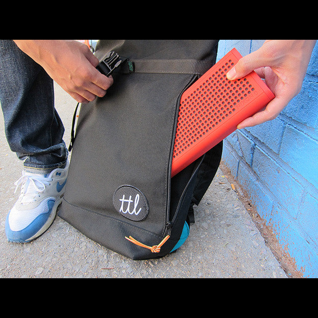 Turntable Lab Ttl Roll Top Backpack Bold Condensed
