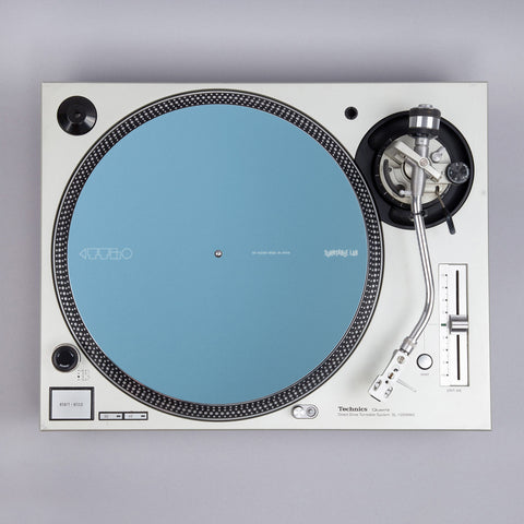 Turntable Lab: Dr. Suzuki Record Mat - Component Design - Lake Blue