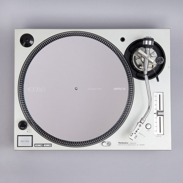 Turntable Lab: Dr. Suzuki Record Mat - Component Design / Flat Grey