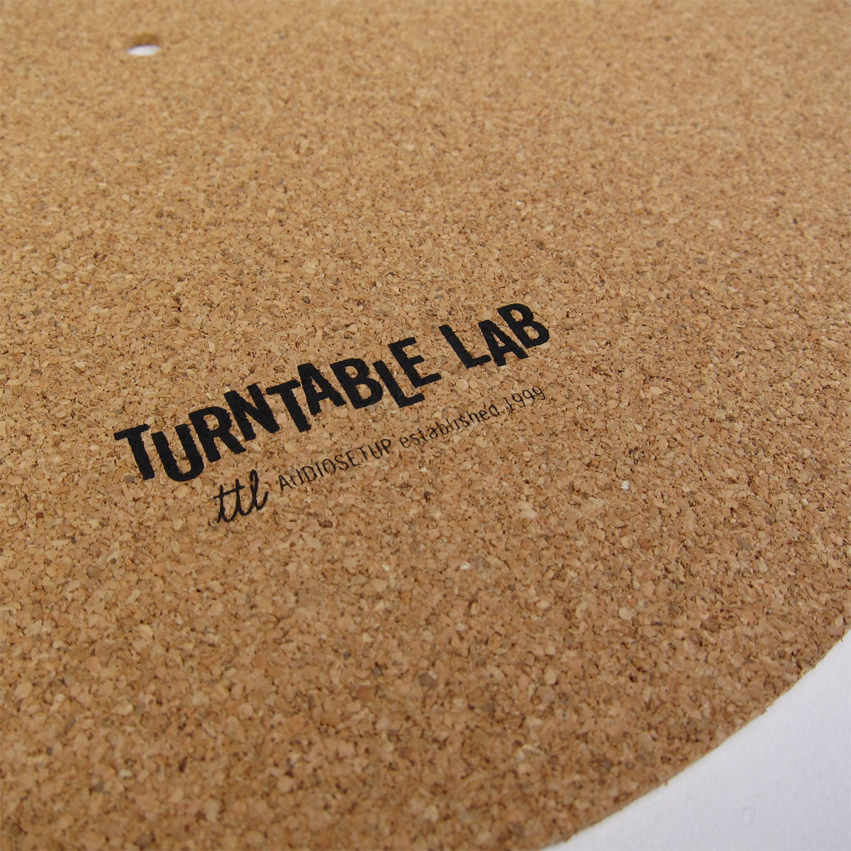 Turntable Lab: Cork Record Mat detail