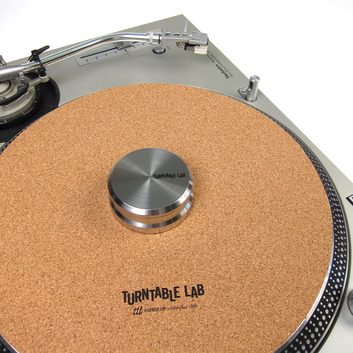 Turntable Lab: Cork Mat + Record Weight Package