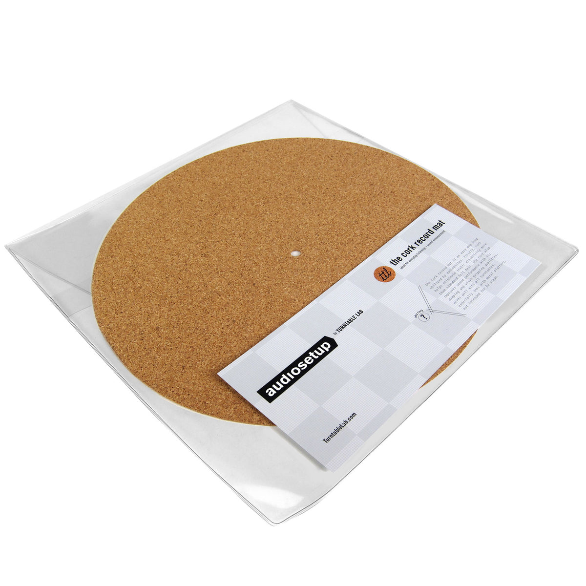 Turntable Lab: Cork Record Mat