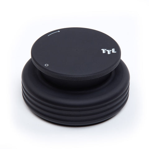 MasterSounds: Turntable Weight Record Stabilizer - Turntable Lab Edition / Black
