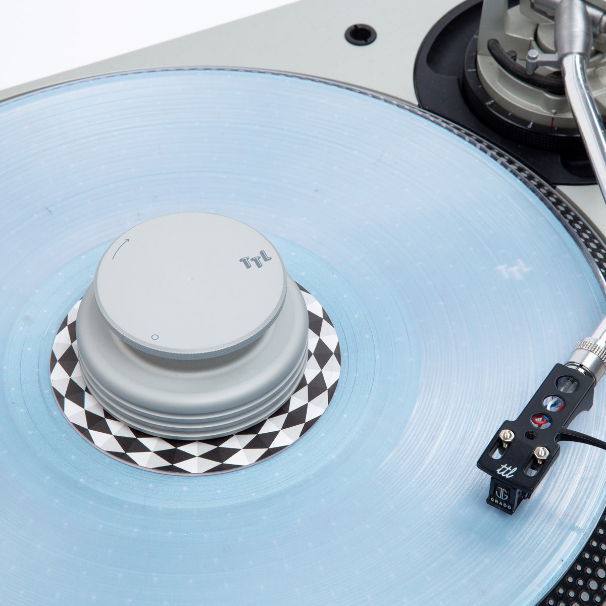 MasterSounds: Turntable Weight Record Stabilizer - Turntable Lab Edition / Silver