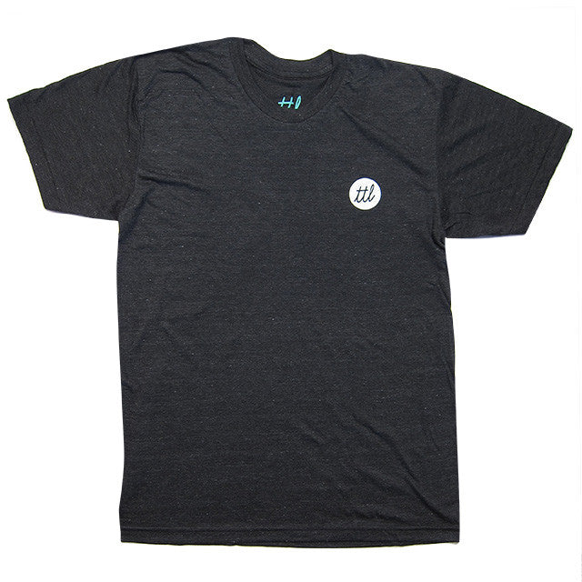 Turntable Lab: Nothingness Shirt - Black Heather