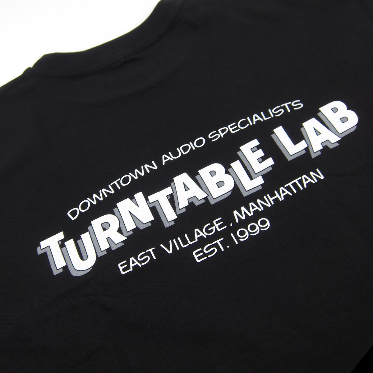 Turntable Lab: Stereo Shop Van Zee Shirt - Black