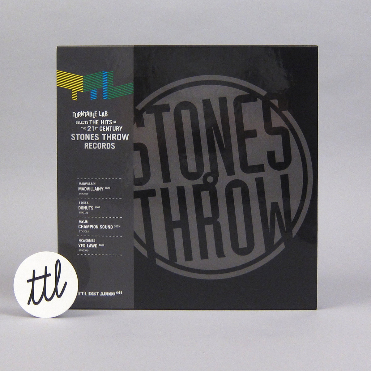 Stones Throw: Turntable Lab Selects... Vinyl 8LP Boxset - Exclusive - LIMIT 1 PER CUSTOMER