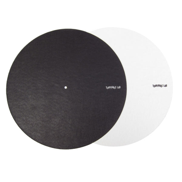 Turntable Lab: Switchmat Reversible Slipmat - Black / White