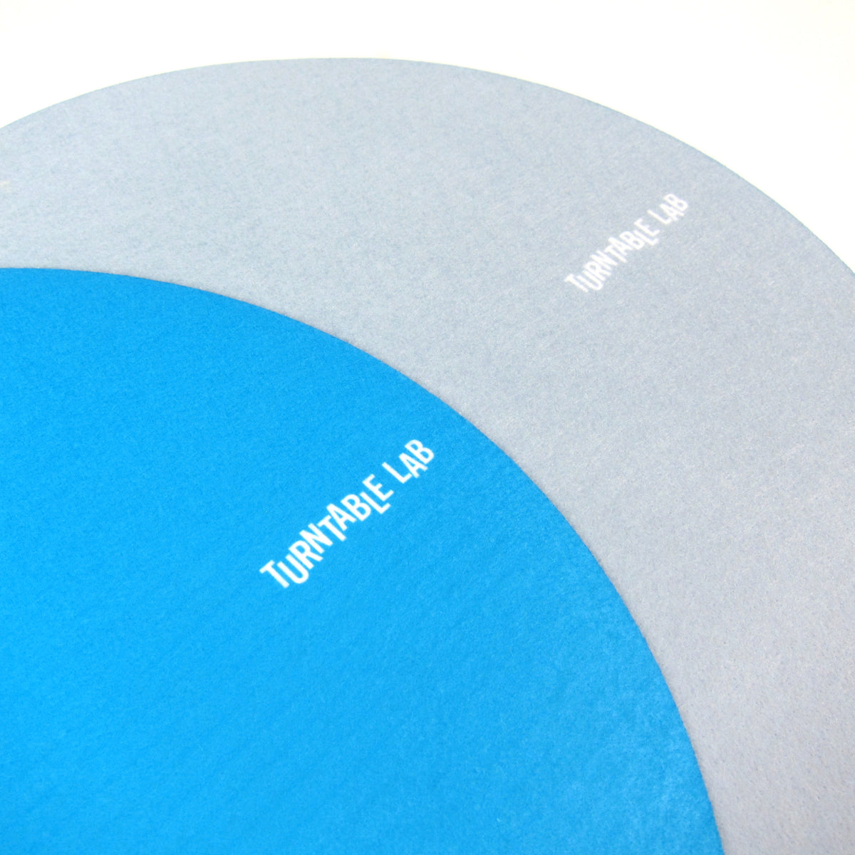 Turntable Lab: Switchmat Reversible Slipmat - Blue / Grey