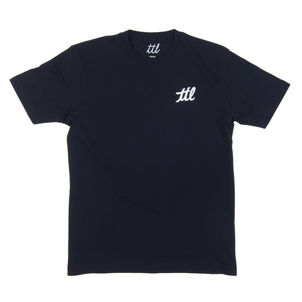 Turntable Lab: Stereo Shop Van Zee Shirt - Navy