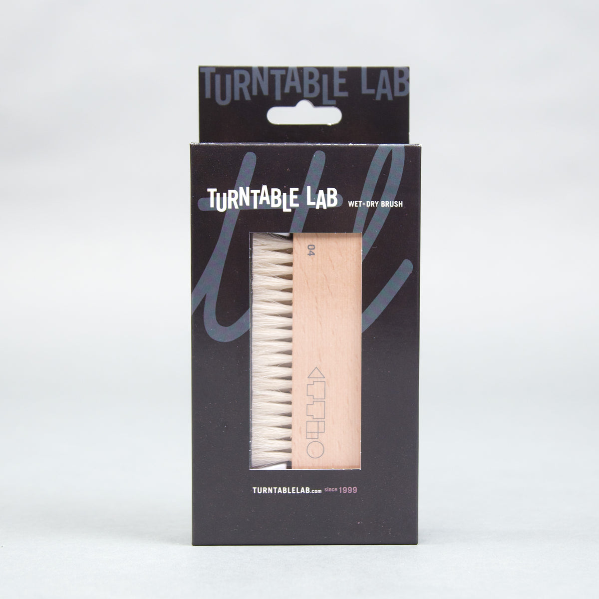 Turntable Lab: Wet+Dry Goat Hair Vinyl Record Brush