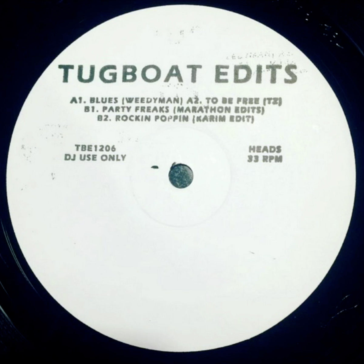 Tugboat Edits: Vol.6 Vinyl 12""