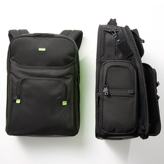 Tumi: Tumi x DJ Vice DJ Backpack Split