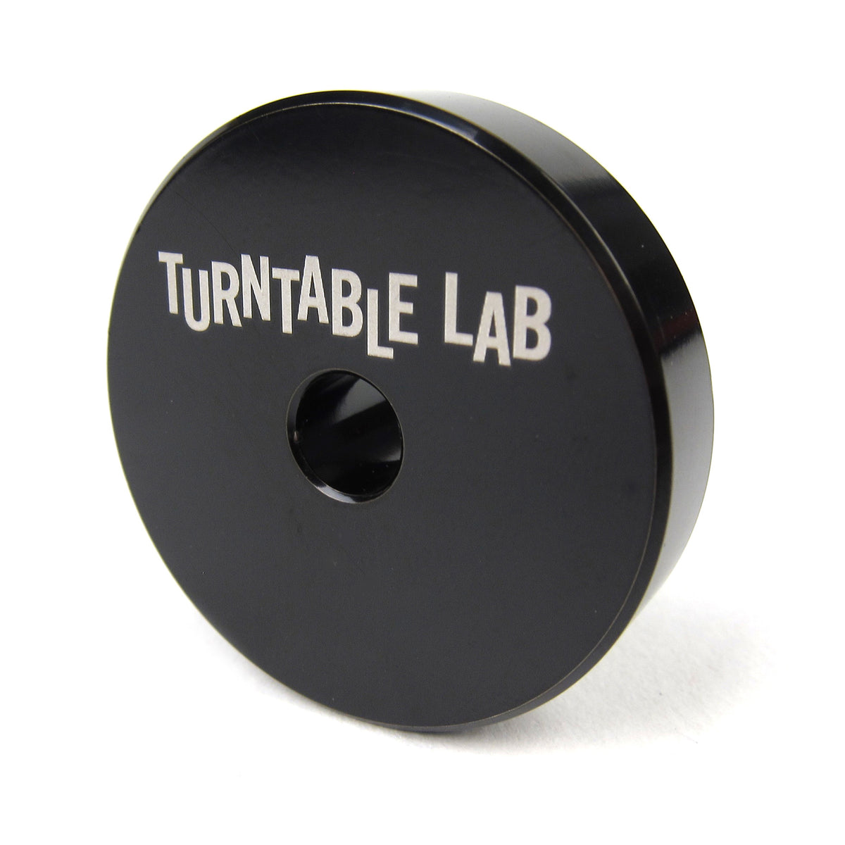 Turntable Lab: Stainless Steel 45 Adapter - Black