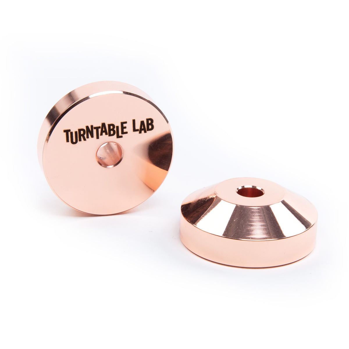 Turntable Lab 45 Record Adaptor Copper