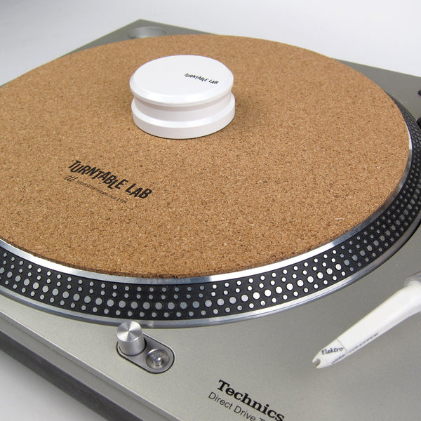 Turntable Lab Cork Mat Record Weight Package