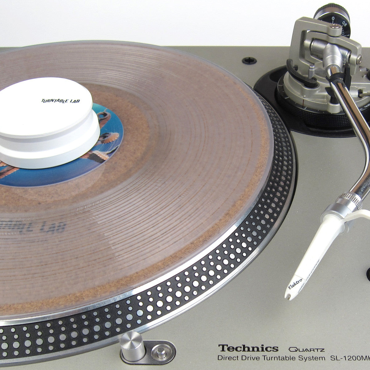 Turntable Lab: Cork Mat + Record Weight Package 3