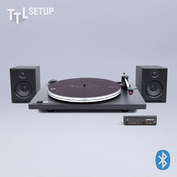 U-Turn: Orbit Turntable Lab Edition / Audioengine A2+W / Turntable Package (TTL Setup)