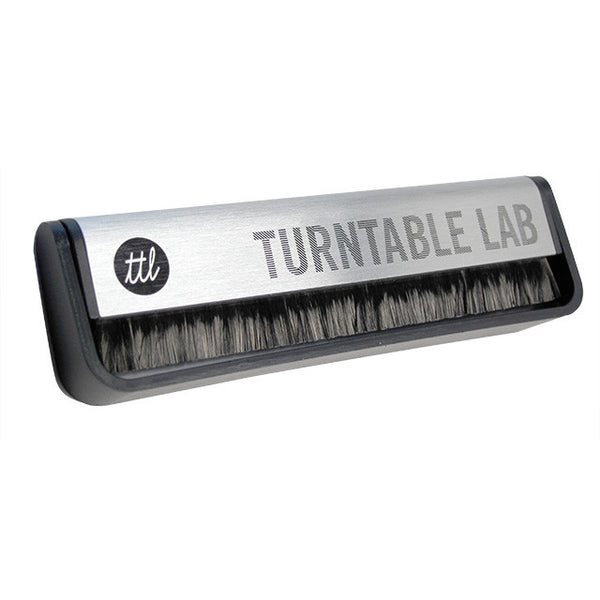 Turntable Lab: Carbon Fiber Anti-Static Record Brush