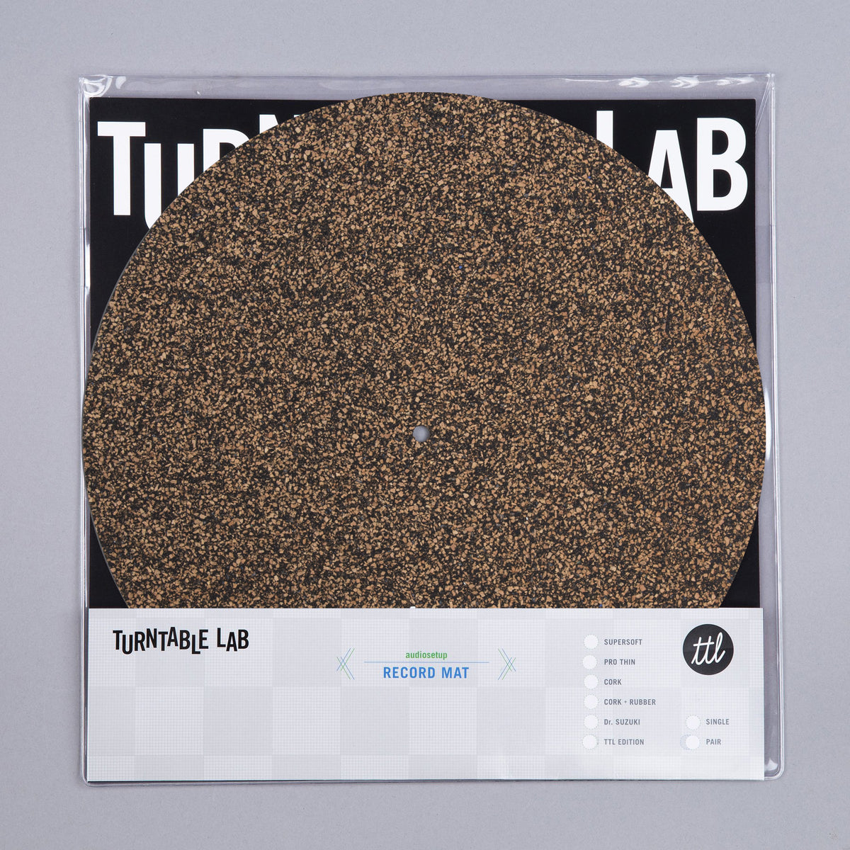 Turntable Lab: Cork & Rubber Record Mat