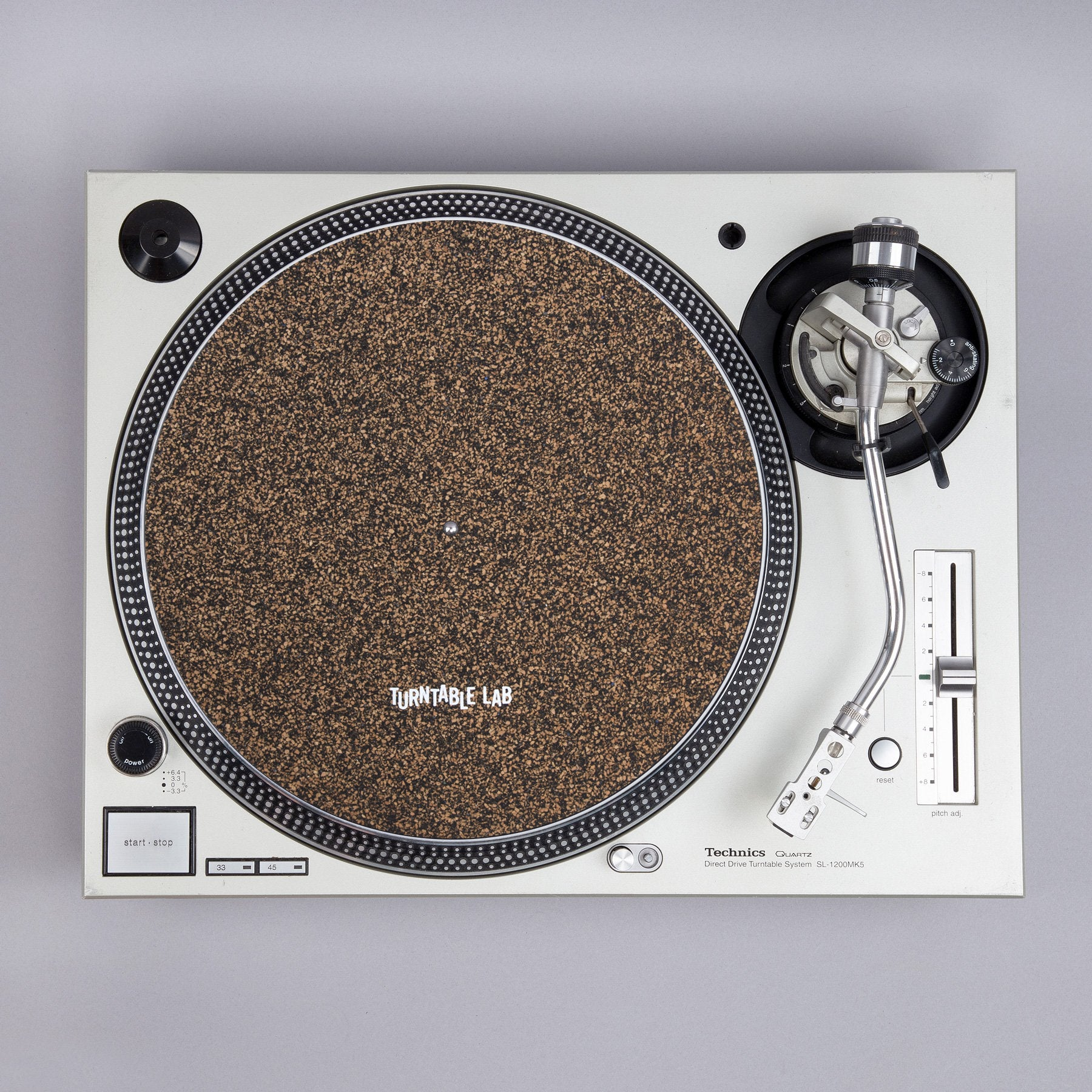 Turntable Lab: Cork & Rubber Record Mat –