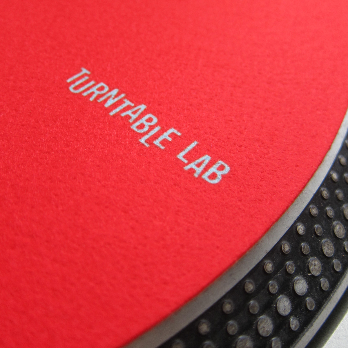 Turntable Lab: Supersoft Slipmats Record Mats - Red