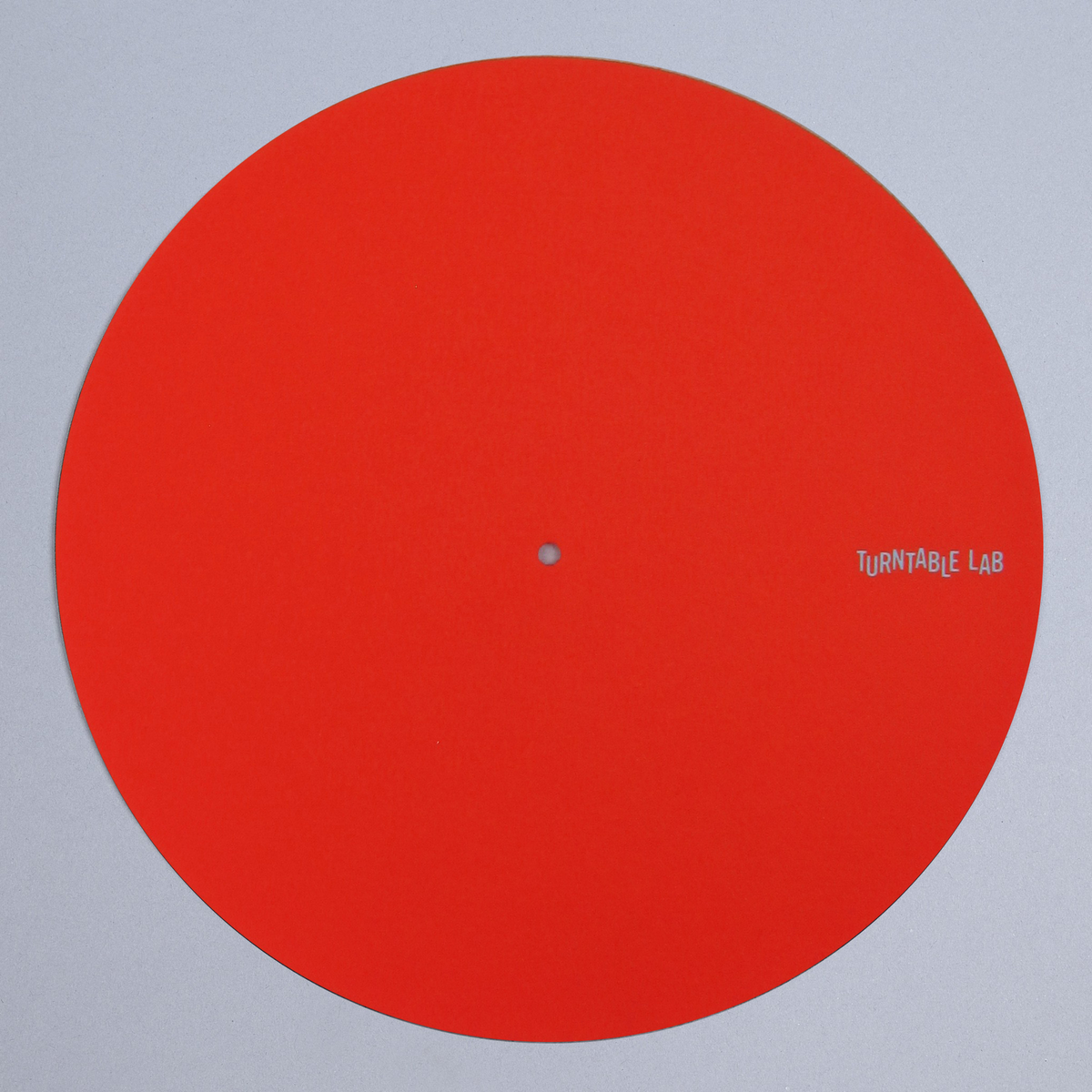 Turntable Lab: Pro Thin Slipmat Record Mats (Technics Style) - Red