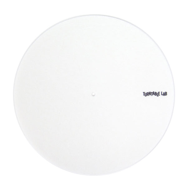 Turntable Lab: Pro Thin Slipmats (Technics Style) - White (Single)