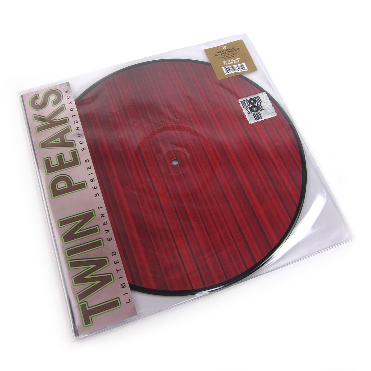 Twin Peaks: Limited Event Series Soundtrack (Pic Disc) Vinyl 2LP (Record Store Day)