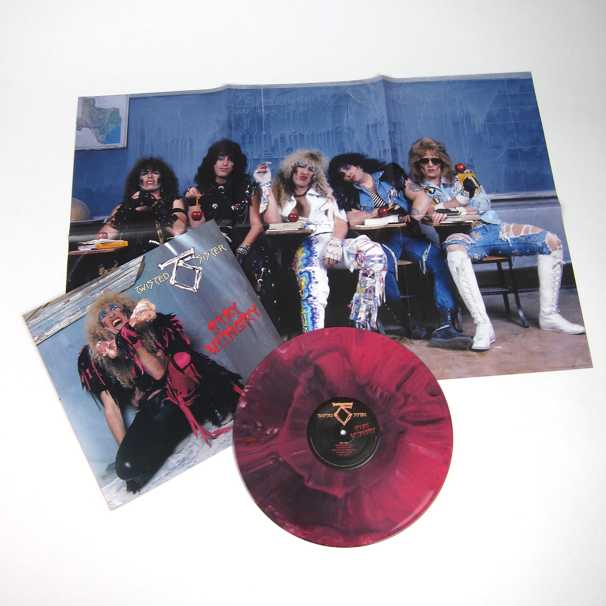 Twisted Sister: Stay Hungry (Colored Vinyl) Vinyl LP